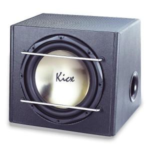 Kicx ICQ 301BPA  Активный корпусной сабвуфер